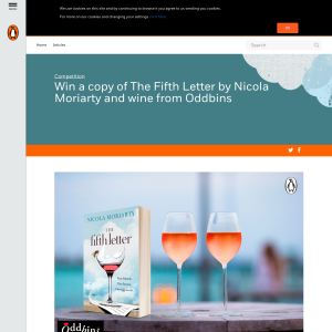 Win 1 of 10 The Fifth Letter by Nicola Moriarty and two bottles of Australian wine