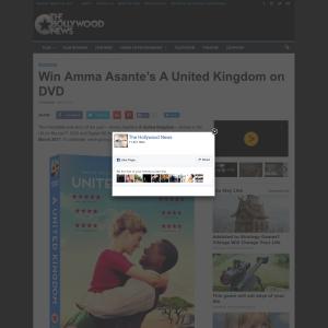 Win 1 of 2 Amma Asante's A United Kingdom on DVD