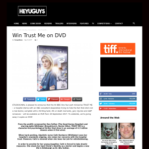 Win 1 of 2 Trust Me on DVD