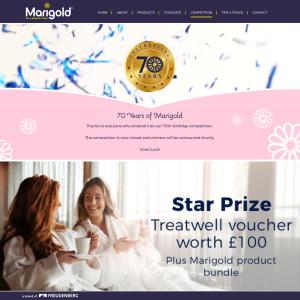 Win a £100 Treatwell Voucher + 1 of 10 Marigold Bundles