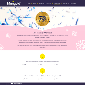 Win a £100 Treatwell Voucher + 10 x Marigold Bundles