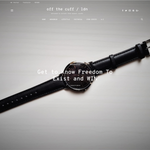 Win a £175 Freedom to Exist Watch