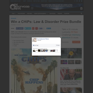 Win a CHiPs: Law & Disorder Prize Bundle