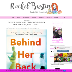 Win a copy of Behind her Back