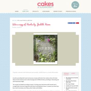 Win a copy of Herbs by Judith Hann