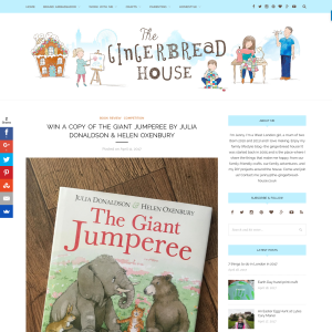 Win a copy of The Giant Jumperee by Julia Donaldson & Helen Oxenbury