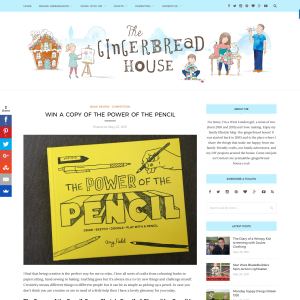 Win a copy of The Power of the Pencil book