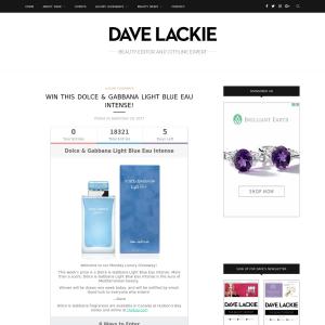 Win a Dolce & Gabbana Light Blue Eau Intense Fragrance