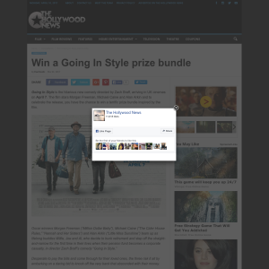 Win a Going In Style prize bundle