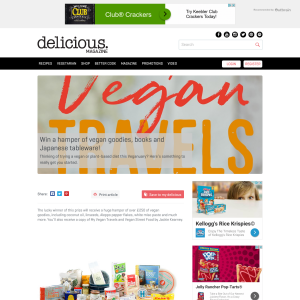 Win a hamper of vegan goodies, books and Japanese tableware
