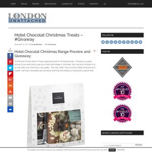 Win a Hotel Chocolat Summer Desserts Sleekster