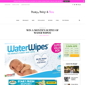 Win a Month's Supply of Water Wipes