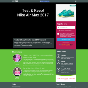 Win a Nike Air Max 2017 Trainers