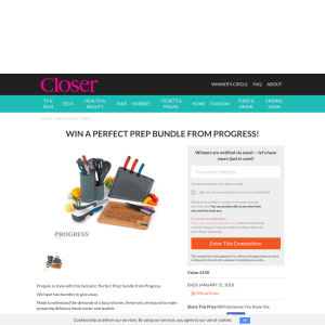 Win A Perfect Prep Bundle From Progress