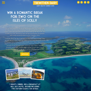 Win a Romantic Break to The Isles of Scilly