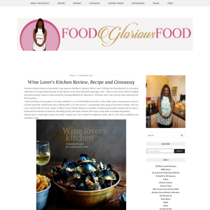 Win a Wine Lovers Kitchen Cookbook
