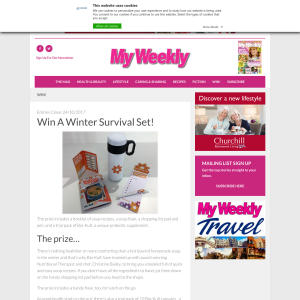 Win A Winter Survival Set