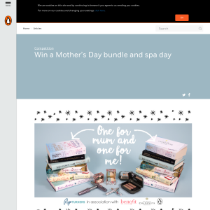 Win Mother's Day book bundle and spa day